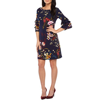 4ce4085df1f Wedding Guest 3 4 Sleeve Dresses for Women - JCPenney