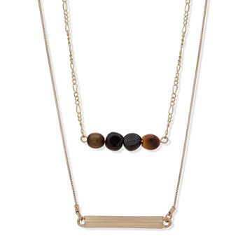a.n.a 16 Inch Box Chain Necklace
