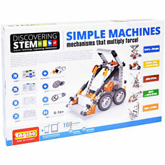 Engino Stem Simple Machines 60-Pc. Building Set