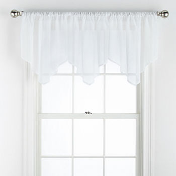 Clearance 24 Inch White Curtains