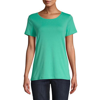 3a2dca8cbf1bcc Buy More And Save Green Tops for Women - JCPenney