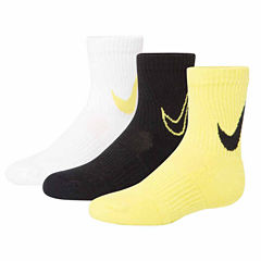 Nike 3-pc. Crew Socks- Boys X-Small