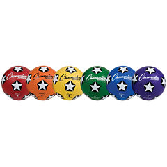 Champion Sports Rubber 6-pc. Soccer Ball