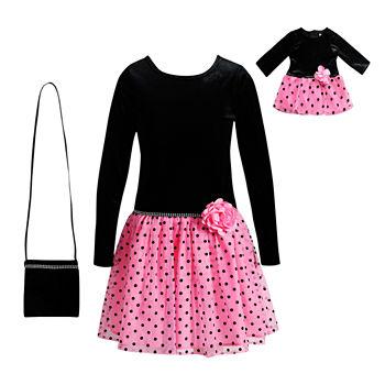 Christmas Dresses For Girls Girls Holiday Dresses Jcpenney