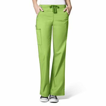 WonderFLEX by WonderWink 5308 Women's Grace Flare Leg Scrub Pant - Plus