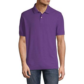 Polo Shirts Purple School Uniforms For Men Jcpenney