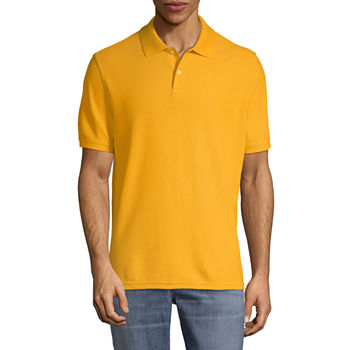 Polo Shirts Yellow For Men Jcpenney