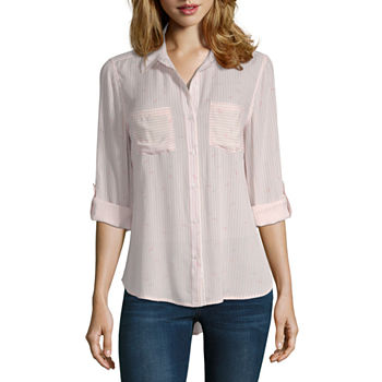 0acbf13f7dcc a.n.a Womens Long Sleeve Button-Front Shirt · (11). Add To Cart. Few Left