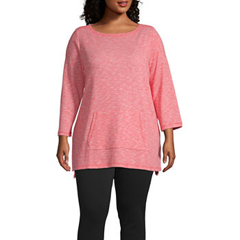f44644146a0 Plus Size Tunic Tops Tops for Women - JCPenney