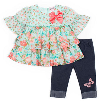 0e738be05809d Little Lass 2-pc. Short Set Toddler Girls. Add To Cart. Mint. $21.99 sale