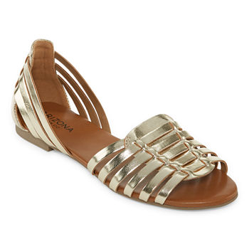 3335307f41a a.n.a Womens Dandy Buckle Closed Toe Ballet Flats. Add To Cart. Only at JCP