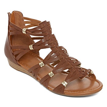 ed0be89d1951 Casual Gladiator Sandals All Women s Shoes for Shoes - JCPenney