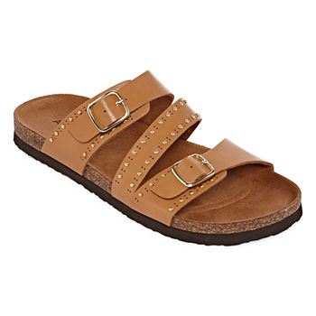 709071e4d Footbed Sandals Women s Sandals   Flip Flops for Shoes - JCPenney