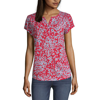 758af1ef636 Women's T-Shirts | V-Neck Shirts for Women | JCPenney