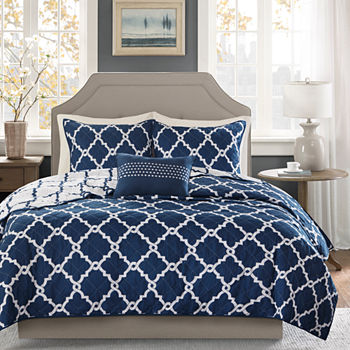 Madison Park Cole 4-pc. Coverlet Set