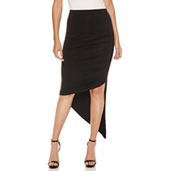 Bisou Bisou Assymetrical Maxi Skirt