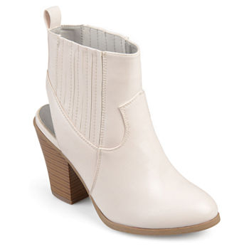 7d80a6f8b126 White Women s Boots for Shoes - JCPenney