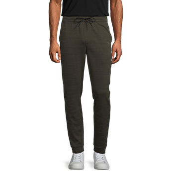 Msx By Michael Strahan Mens Regular Fit Double Knit Jogger Pant