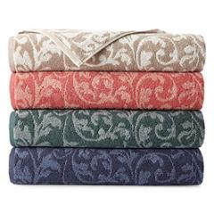 Royal Velvet® Florence Scroll Bath Towel Collection