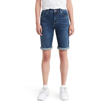 "Levi's® Mid Rise Stretch 10 1/2"" Bermuda Short"
