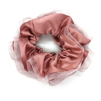 Mixit Pink Oversized Scrunchie Hair Ties