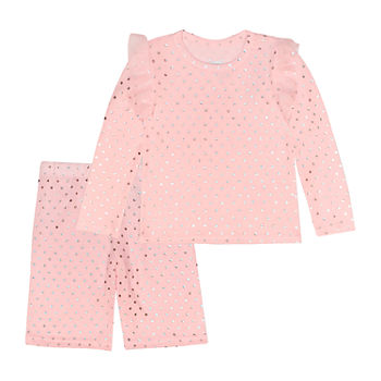 Young Hearts Toddler Girls 2-pc. Pant Set