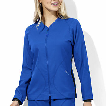W123 by WonderWink® 8213 - Women's Tech Warm-Up Jacket