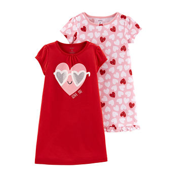 87c0b68453 Toddler 2t-5t Nightgowns Pajamas for Kids - JCPenney