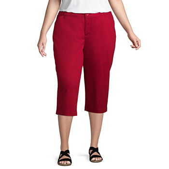 Plus Size Red Pants for Women - JCPenney