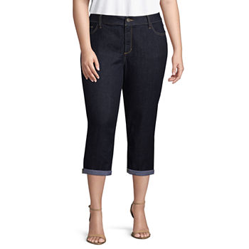 2a20195d990 St. John s Bay Secretly Slender Bi-stretch Straight Leg Pant- Plus · (15).  Add To Cart. New. Black