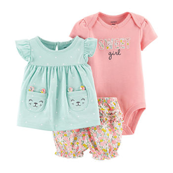 ae81fb874a63 Casual Clothing Sets Baby Girl Clothes 0-24 Months for Baby - JCPenney