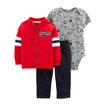 eb4130584 Red Baby Boy Clothes 0-24 Months for Baby - JCPenney
