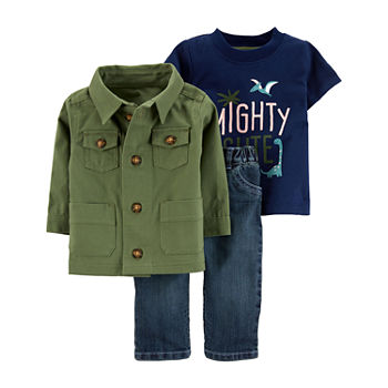 21b72d89a Green Baby Boy Clothes 0-24 Months for Baby - JCPenney