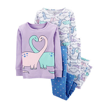 bf688b41ce94b Pajama Sets Purple Baby Girl Clothes 0-24 Months for Baby - JCPenney