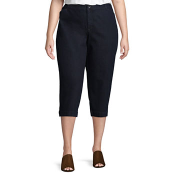 88426742dbba8 Plus Size Capris   Cropped Pants - JCPenney