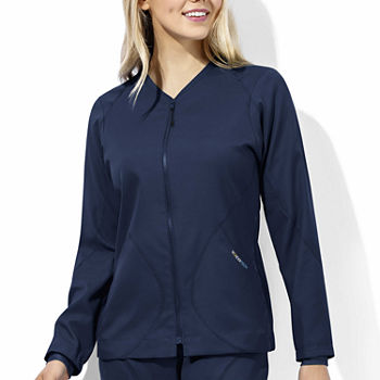 W123 by WonderWink® 8213 - Women's Tech Warm-Up Jacket - Plus