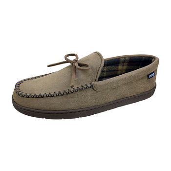 IZOD Moccasin Slippers