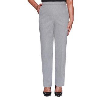 Alfred Dunner Glacier Lake Womens Straight Pull-On Pants