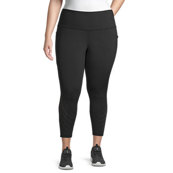 Xersion Move Womens High Rise 7/8 Ankle Leggings Plus