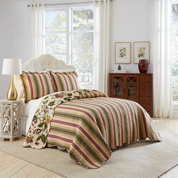 waverly bedding quilt set quilts reversible dillards