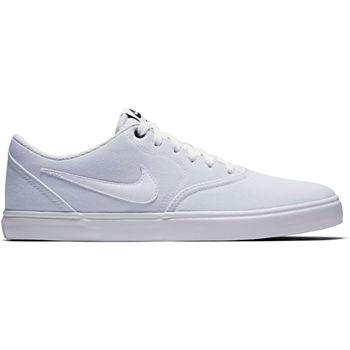4af584ddfe6 Nike Check Solar Mens Skate Shoes Lace-up