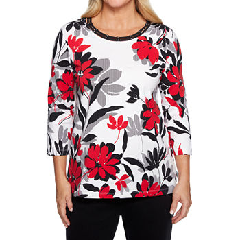 9e30b345696 Alfred Dunner Floral Closeouts for Clearance - JCPenney