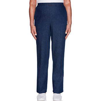 ce8b1dc7ce5 Alfred Dunner Versailles Womens Straight Pull-On Pants. Add To Cart. Few  Left