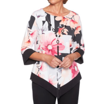 Alfred Dunner Blouses Tops For Women Jcpenney