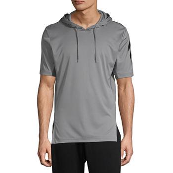 84647f15b0 Adidas Sport Short Sleeve Hoody Mens - Athletic