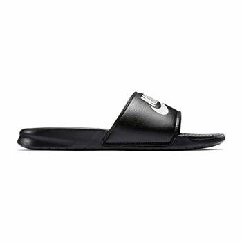 d0ccae12d1f8 Slide Sandals Gray Men s Wide Width Shoes for Shoes - JCPenney