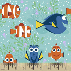 Disney Finding Dory All Smiles Fabric By The Yard