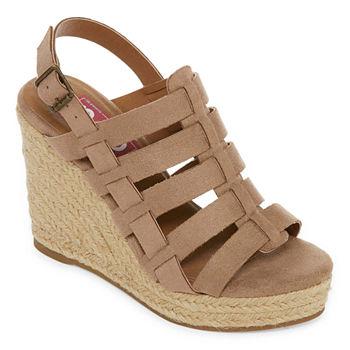 f3d783c66397 Pop Wedge Sandals Women s Sandals   Flip Flops for Shoes - JCPenney
