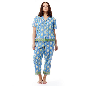 27533e1120 Plus Size Pajamas   Robes for Women - JCPenney