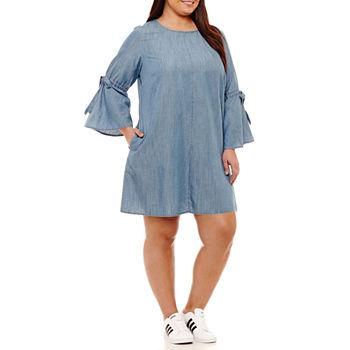 Plus Size Shirt Dresses Dresses for Women - JCPenney